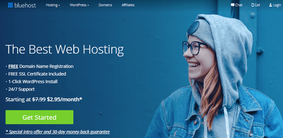 Héberger son site chez BlueHost