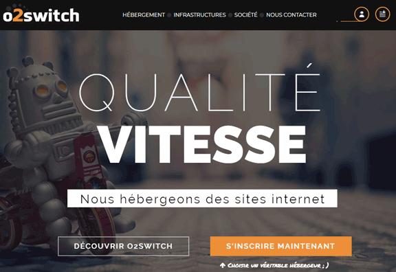 Héberger son site chez O2switch