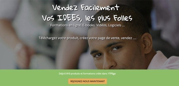 créer un tunnel de vente gratuit 1tpego.com