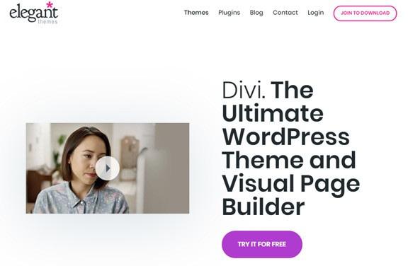créer son blog thème WordPress   Divi