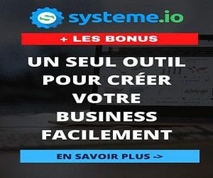 Systeme.io Le seul outil dont vous avez besoin pour créer votre business en ligne