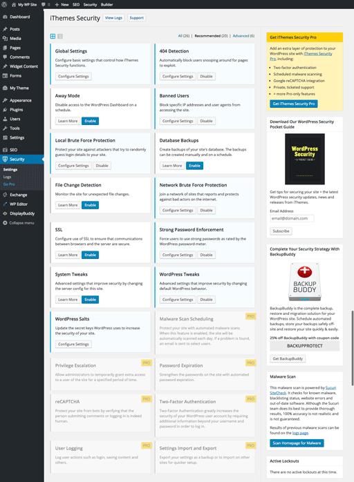 6 meilleurs plugins de sécurité WordPress