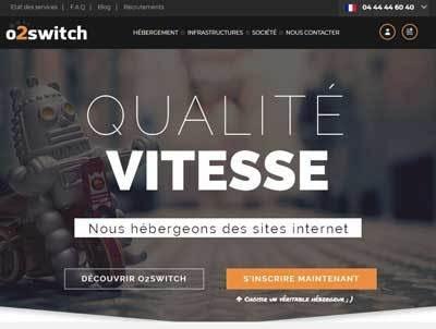 Hébergement WordPress O2Switch