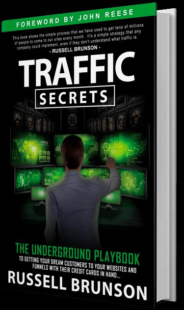 Traffic Secrets : le livre du fondateur de Clickfunnels