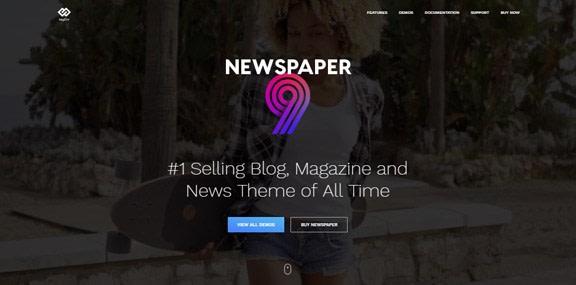 Le 10 meilleurs thèmes WordPress Premium 2019 - NewsPaper