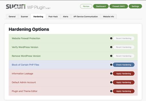 Sucuri meilleur plugin pour sécuriser WordPress