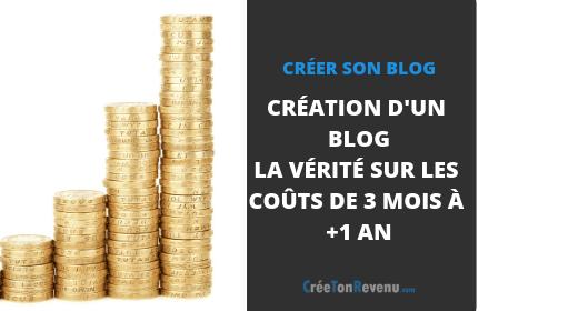 Combien coûte un blog - La vérité sur le budget